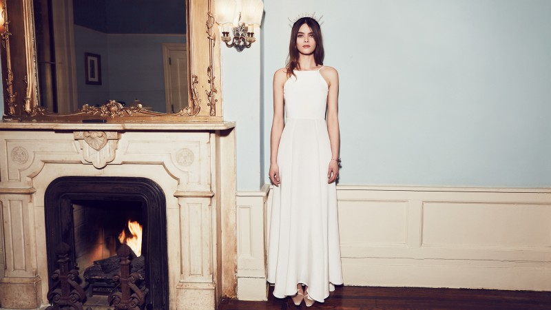 reformation wedding collection2 800x450  Camille Rowe & Karolina Babczynska Model Reformations No Fuss Wedding Apparel