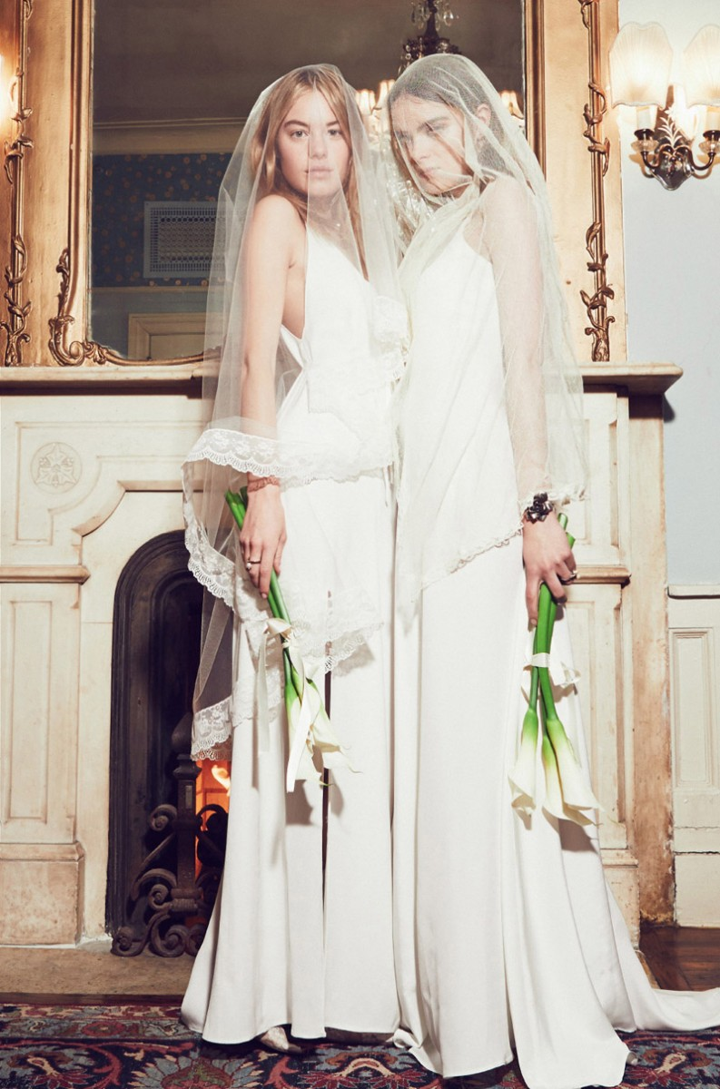 reformation wedding collection7 793x1200  Camille Rowe & Karolina Babczynska Model Reformations No Fuss Wedding Apparel