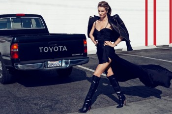 Rosie Huntington-Whiteley is Smokin' Hot in Vamp #1 by Paola Kudacki