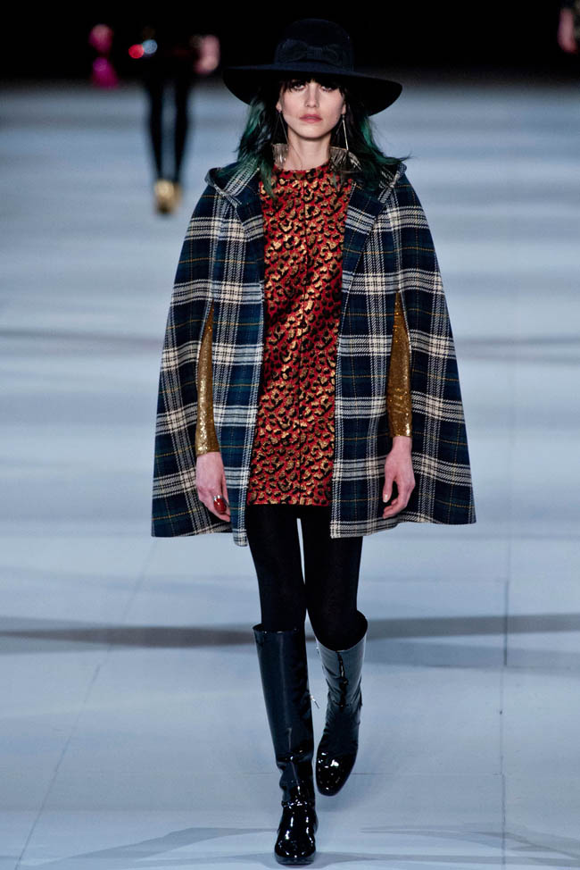 saint laurent fall winter 2014 show9 Saint Laurent Fall/Winter 2014 | Paris Fashion Week