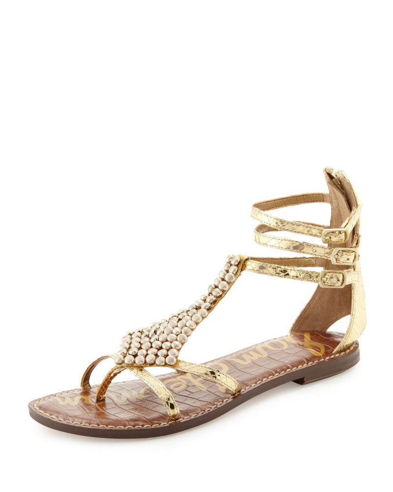 sam edelman gold gladiator sandal 800x1000 6 Great Spring/Summer Sandal Trends