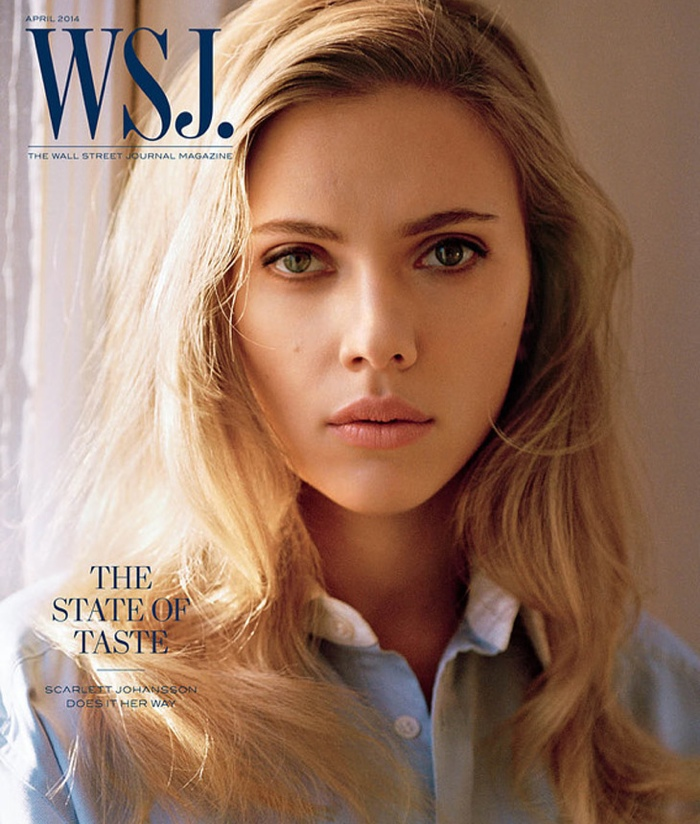 scarlett johansson 2014 1 Scarlett Johansson Stars in WSJ, Wants to Be More Than an Object of Desire