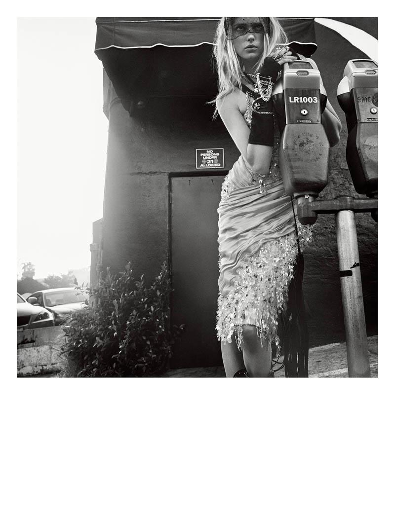 sigrid agren photo shoot10 Sunset Boulevard: Sigrid Agren Poses in Numéro #152 by Greg Kadel