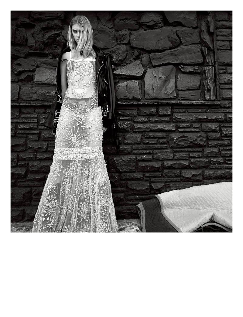 sigrid agren photo shoot8 Sunset Boulevard: Sigrid Agren Poses in Numéro #152 by Greg Kadel
