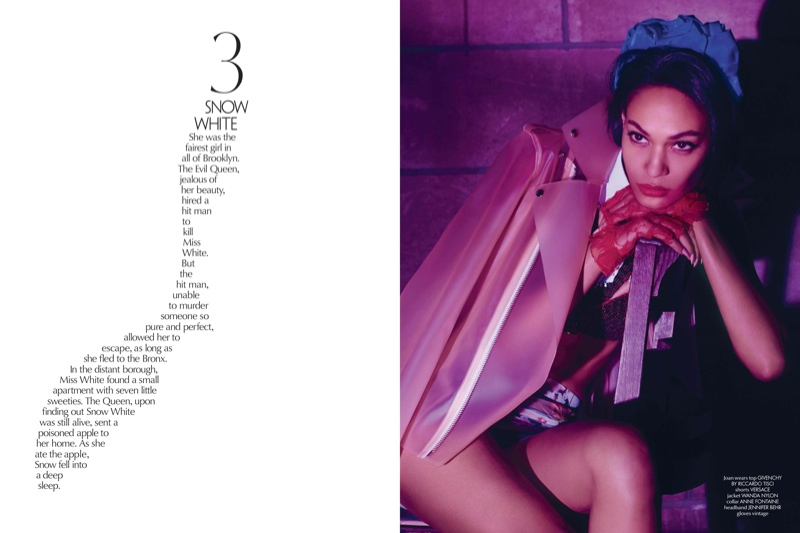 sleeping beauty lee daniels10 Joan Smalls & Michael B. Jordans Modern Fairy Tale for CR Fashion Book