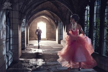 Joan Smalls & Michael B. Jordan's Modern Fairy Tale for CR Fashion Book