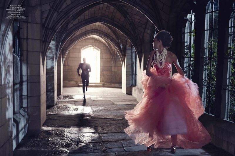 sleeping beauty lee daniels4 Joan Smalls & Michael B. Jordans Modern Fairy Tale for CR Fashion Book