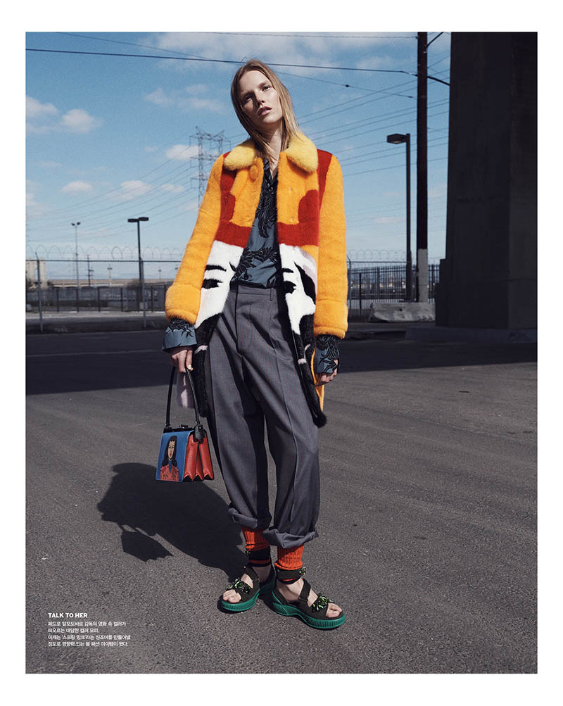 suvi koponen model2 Suvi Koponen Joins Husband Tyler Riggs for Vogue Korea Shoot by Benny Horne