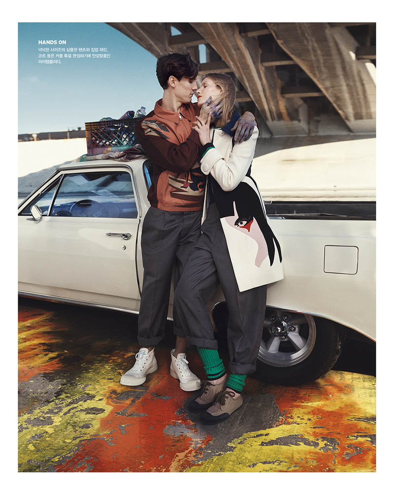 suvi koponen model9 Suvi Koponen Joins Husband Tyler Riggs for Vogue Korea Shoot by Benny Horne