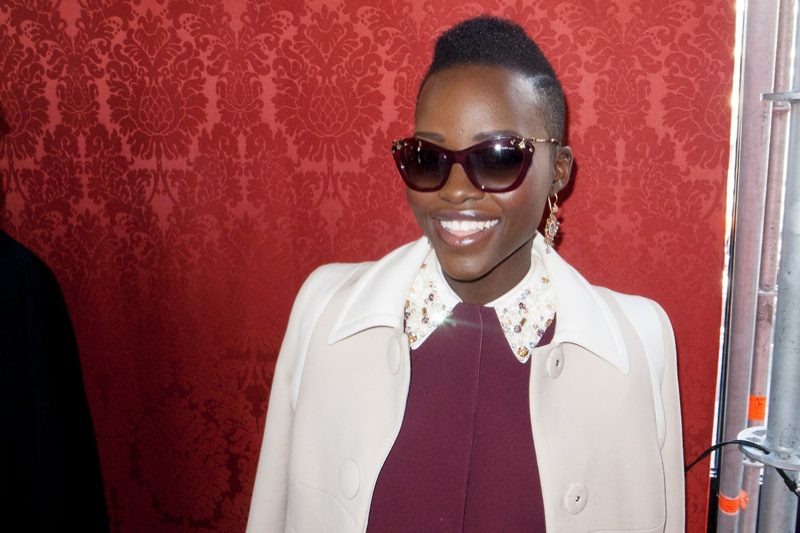 terry miu miu1 Lupita Nyongo, Elle Fanning + More at Miu Miu Show by Terry Richardson