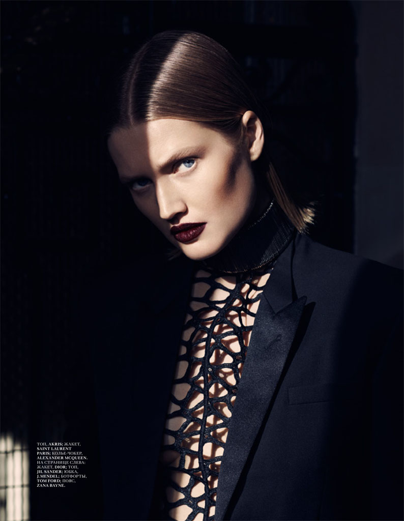 toni garrn photos10 Toni Garrn Gives Vixen Vibes in Interview Russia Shoot