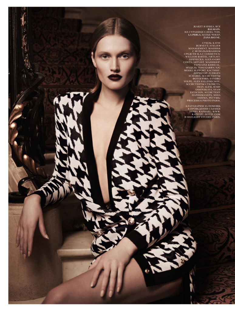 toni garrn photos14 Toni Garrn Gives Vixen Vibes in Interview Russia Shoot