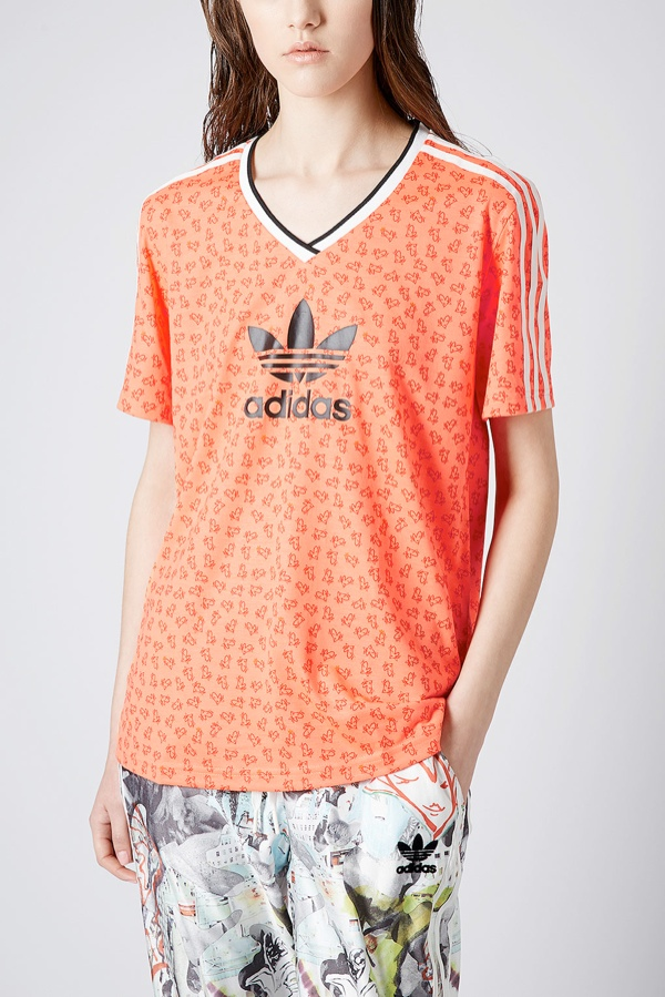 topshop adidas football tee Shop the Topshop x adidas Originals Collection