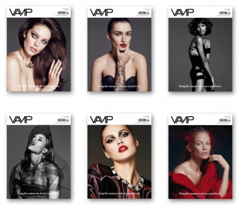 Rosie, Emily, Carolyn, Karmen, Liya + Andreea Are 'Vamps' in New Covers