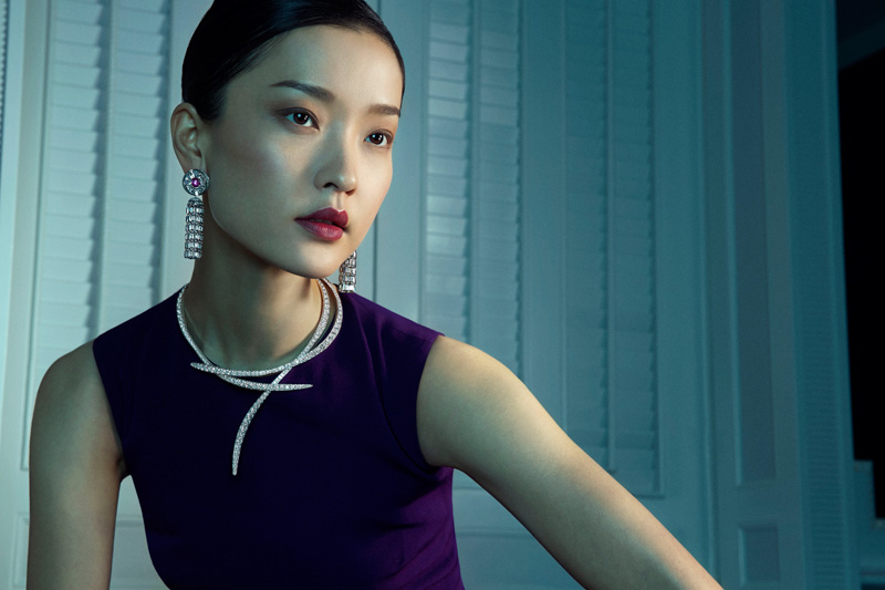 van cleef arpels pierres de caractre4 Du Juan + Bonnie Chen Shine in Van Cleef & Arpels Shoot by Richard Ramos