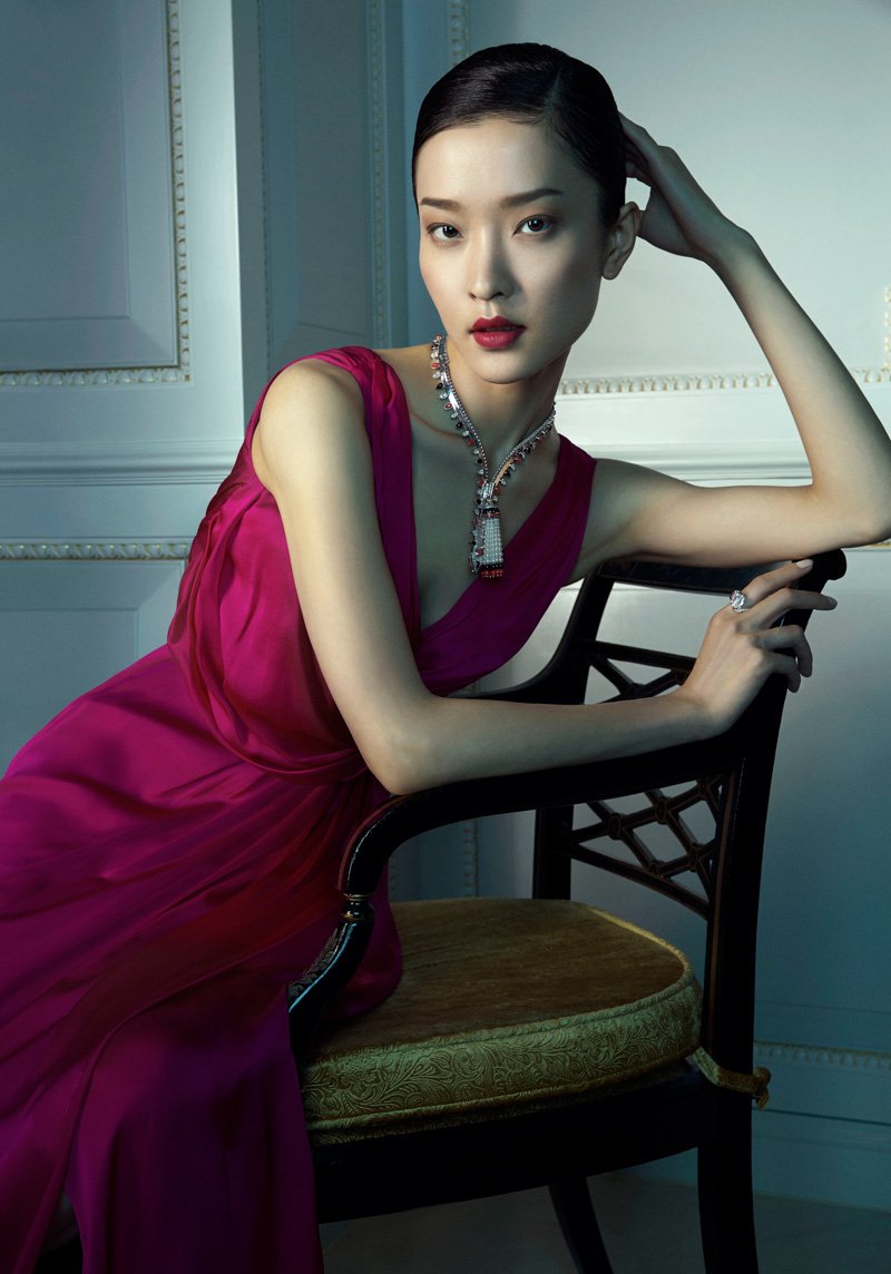 van cleef arpels pierres de caractre6 Du Juan + Bonnie Chen Shine in Van Cleef & Arpels Shoot by Richard Ramos