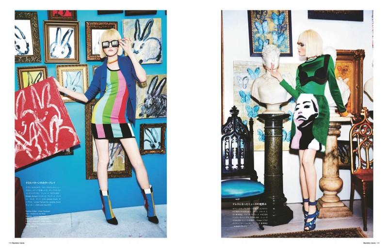 Vlada Roslyakova Gets Colorful in Numéro Tokyo Shoot by Ellen von Unwerth