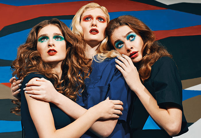 women verge Women on the Verge: JUCO Captures Dramatic Style for PAPER Magazine