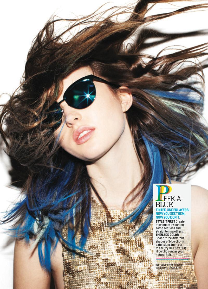 yolo hair4 YOLO Hair: Ali & Victoria in Daring Dos for Cosmopolitan
