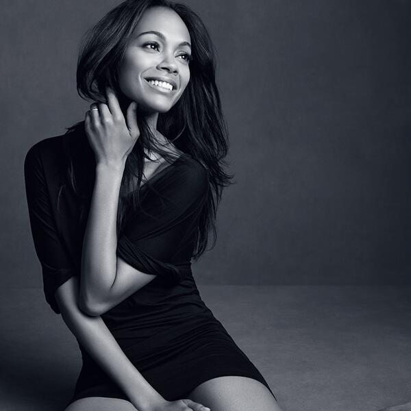 zoe saldana loreal Zoe Saldana Lands LOreal Paris Contract