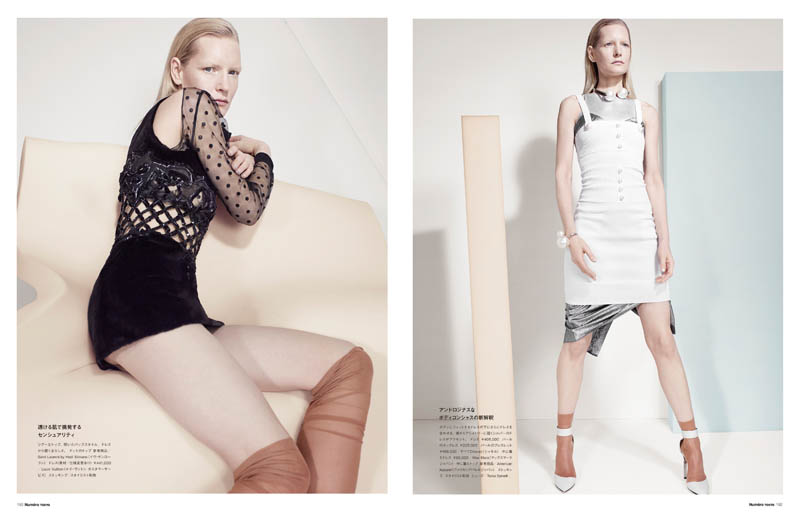 CatherineServel KirstenOwen Spread3 The Alchemist: Kirsten Owen by Catherine Servel for Numéro Tokyo