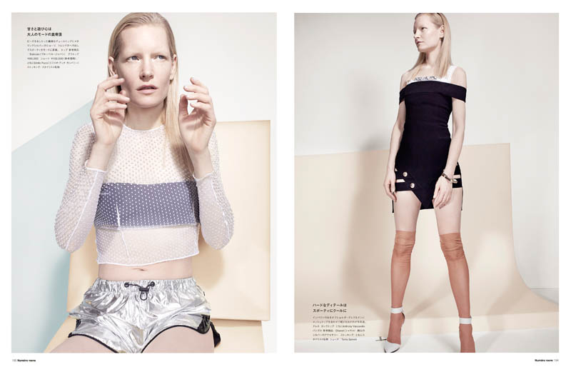 CatherineServel KirstenOwen Spread4 The Alchemist: Kirsten Owen by Catherine Servel for Numéro Tokyo