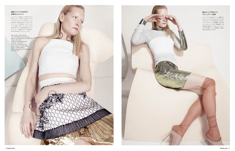CatherineServel KirstenOwen Spread5 The Alchemist: Kirsten Owen by Catherine Servel for Numéro Tokyo