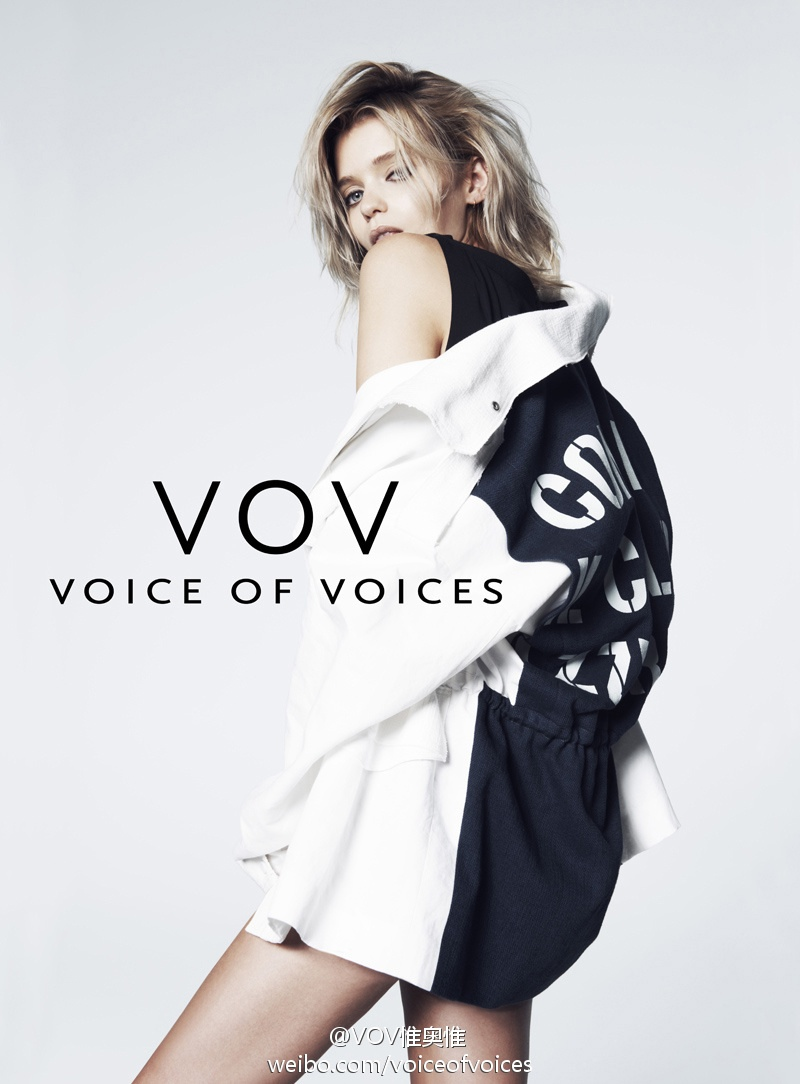 abbey lee vov korea spring 2014 2 Abbey Lee Kershaw Exudes Cool in Voice of Voices Spring 2014 Campaign