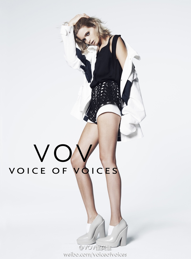 abbey lee vov korea spring 2014 3 Abbey Lee Kershaw Exudes Cool in Voice of Voices Spring 2014 Campaign