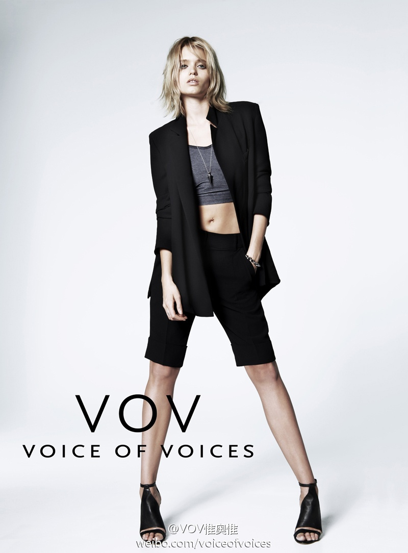 abbey lee vov korea spring 2014 4 Abbey Lee Kershaw Exudes Cool in Voice of Voices Spring 2014 Campaign