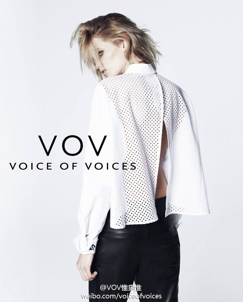 abbey lee vov korea spring 2014 5 Abbey Lee Kershaw Exudes Cool in Voice of Voices Spring 2014 Campaign