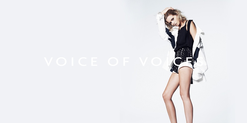 abbey lee vov korea spring 2014 6 Abbey Lee Kershaw Exudes Cool in Voice of Voices Spring 2014 Campaign