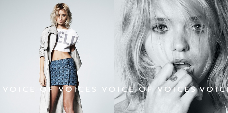 abbey lee vov korea spring 2014 7 Abbey Lee Kershaw Exudes Cool in Voice of Voices Spring 2014 Campaign