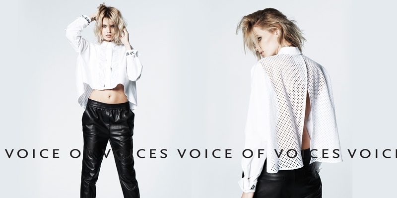 abbey lee vov korea spring 2014 9 Abbey Lee Kershaw Exudes Cool in Voice of Voices Spring 2014 Campaign