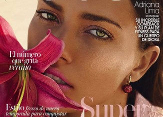 adriana lima vogue spain may 2014 cover 326x235