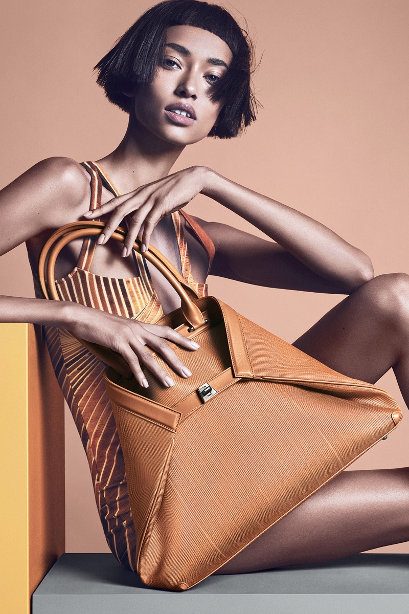 akris spring summer 2014 campaign1 Anais Mali Poses for Akris Spring/Summer 2014 Campaign