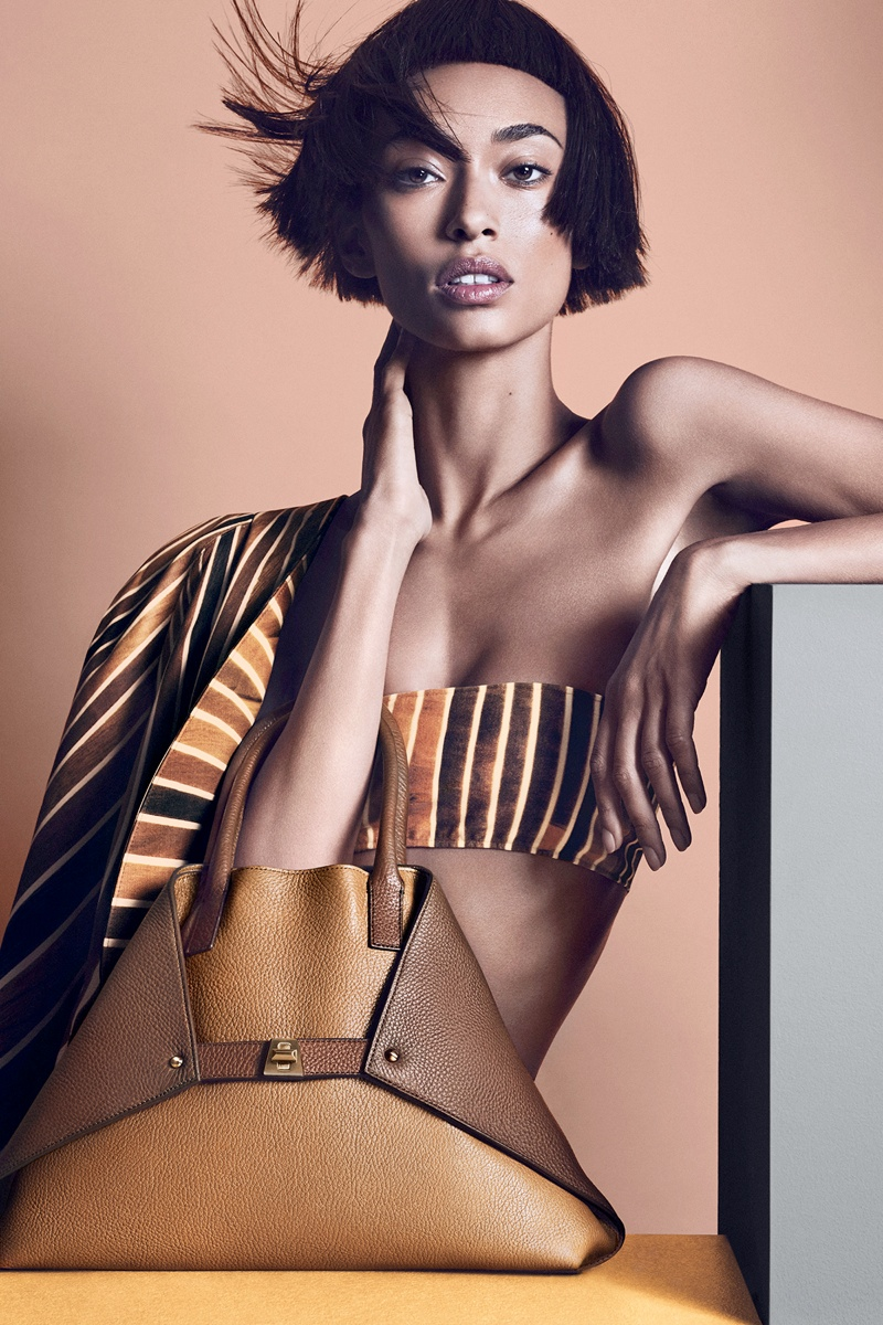 Anais Mali Poses for Akris Spring/Summer 2014 Campaign