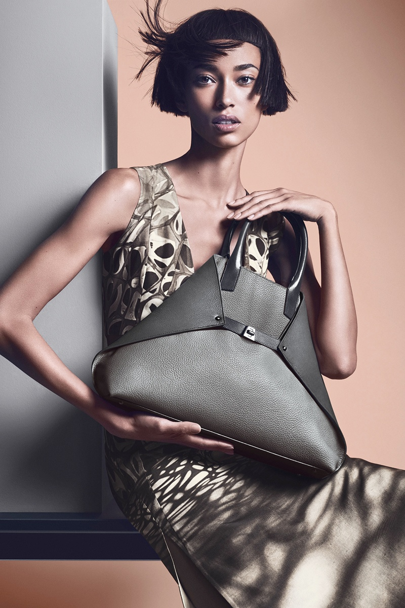akris spring summer 2014 campaign3 Anais Mali Poses for Akris Spring/Summer 2014 Campaign