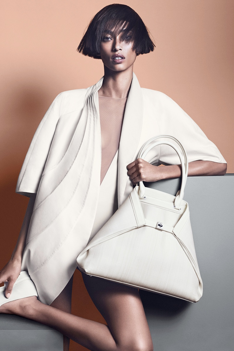 akris spring summer 2014 campaign4 Anais Mali Poses for Akris Spring/Summer 2014 Campaign