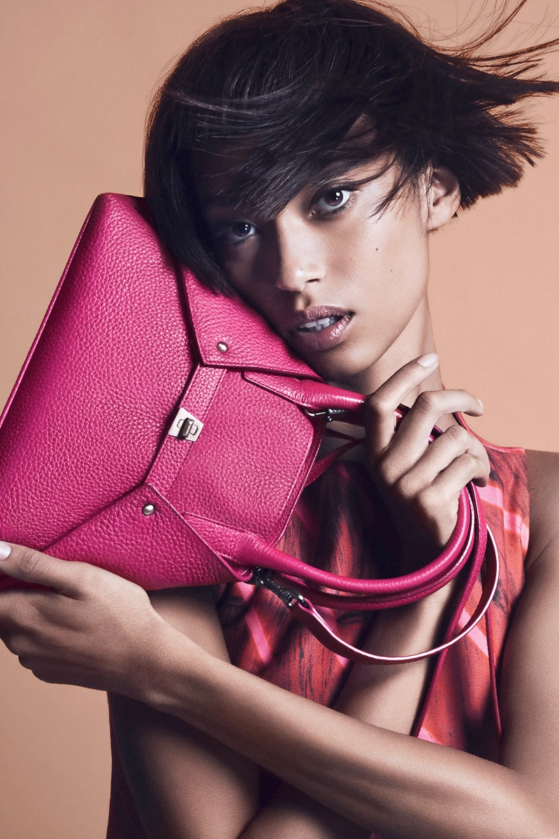 akris spring summer 2014 campaign5 Anais Mali Poses for Akris Spring/Summer 2014 Campaign
