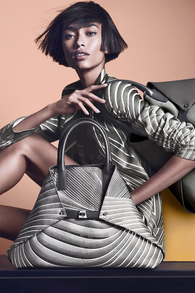 akris spring summer 2014 campaign6 Anais Mali Poses for Akris Spring/Summer 2014 Campaign
