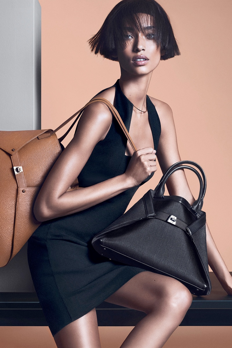 akris spring summer 2014 campaign7 Anais Mali Poses for Akris Spring/Summer 2014 Campaign