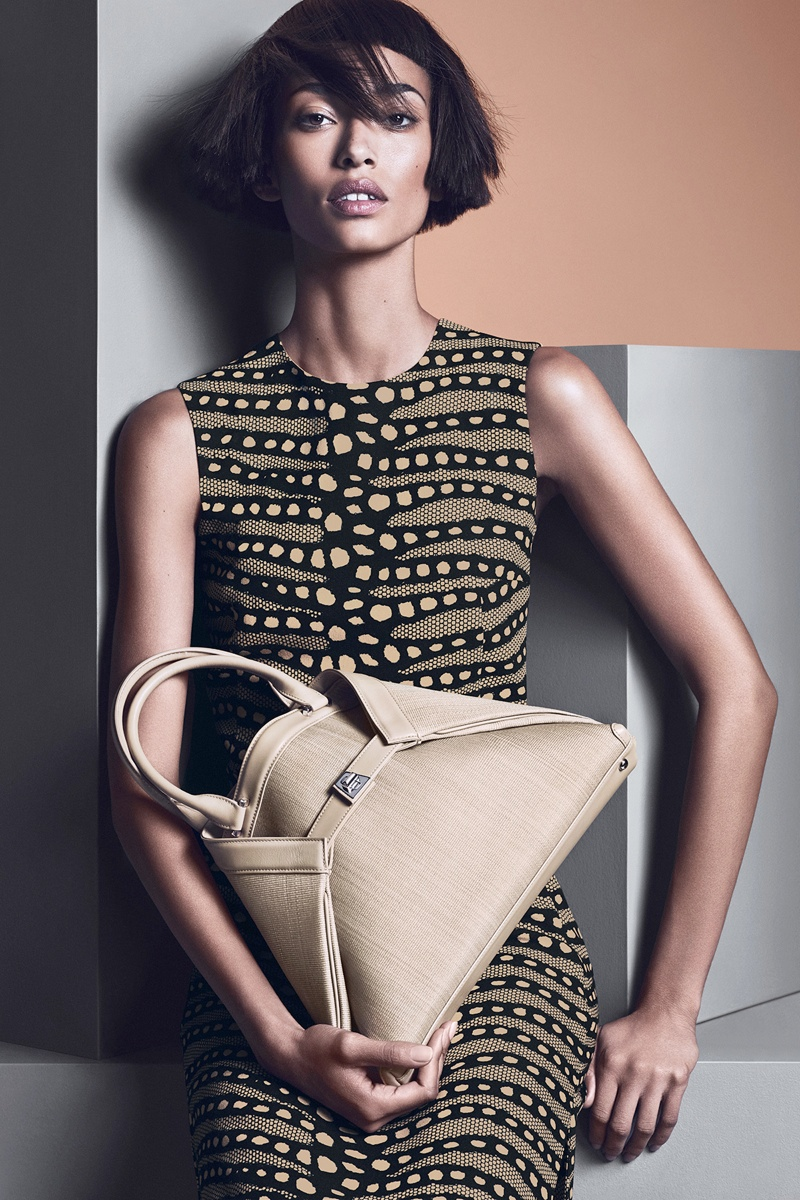 akris spring summer 2014 campaign8 Anais Mali Poses for Akris Spring/Summer 2014 Campaign