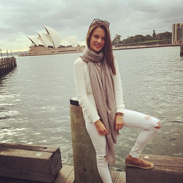 Alessandra Ambrosio in Sydney, Australia