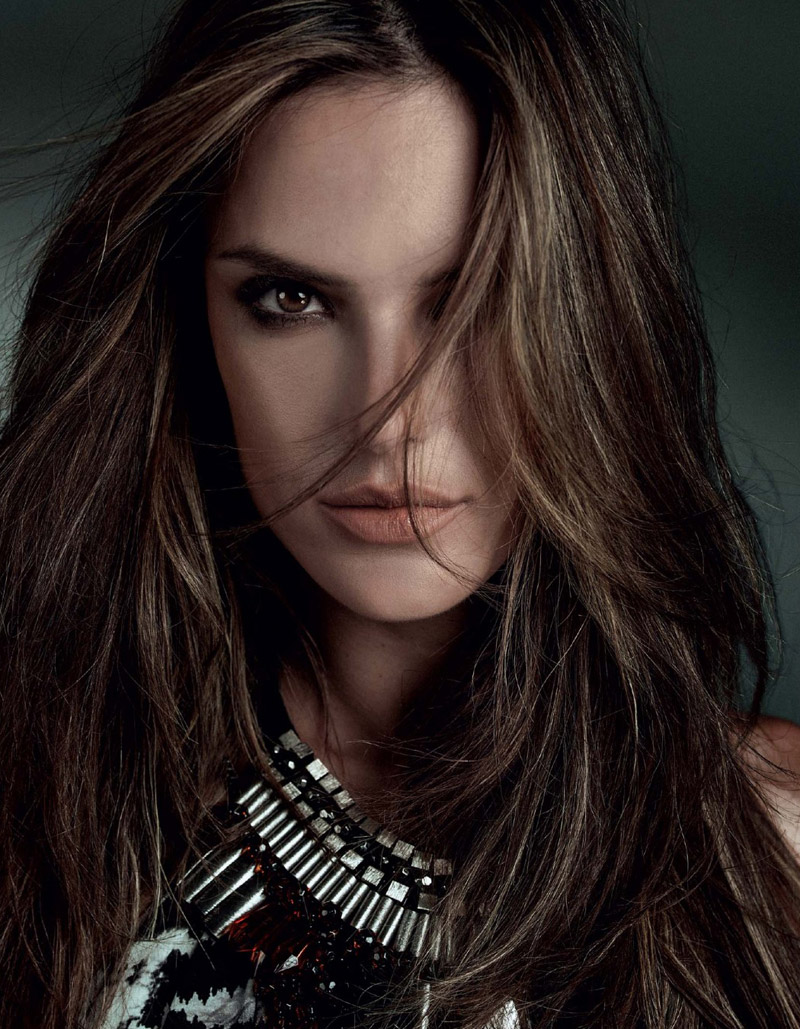 alessandra ambrosio bobstore fall 20141 Wild Child: Alessandra Ambrosio is Glam in Bobstore Fall 2014 Campaign