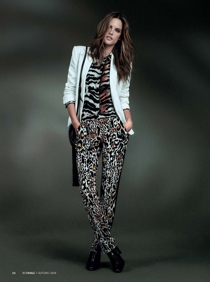 alessandra ambrosio bobstore fall 20143 Wild Child: Alessandra Ambrosio is Glam in Bobstore Fall 2014 Campaign