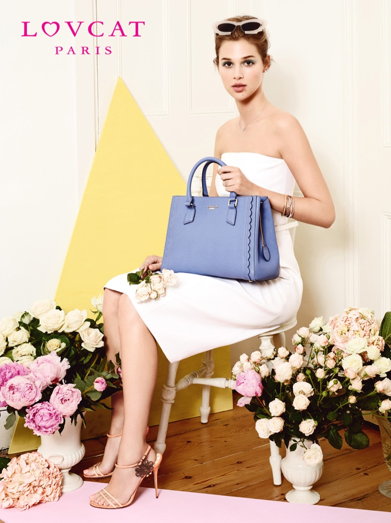 anais pouliot lovcat spring 2014 campaign12 Hey Pretty! Anais Pouliot Stars in Lovcat Paris' Spring 2014 Campaign