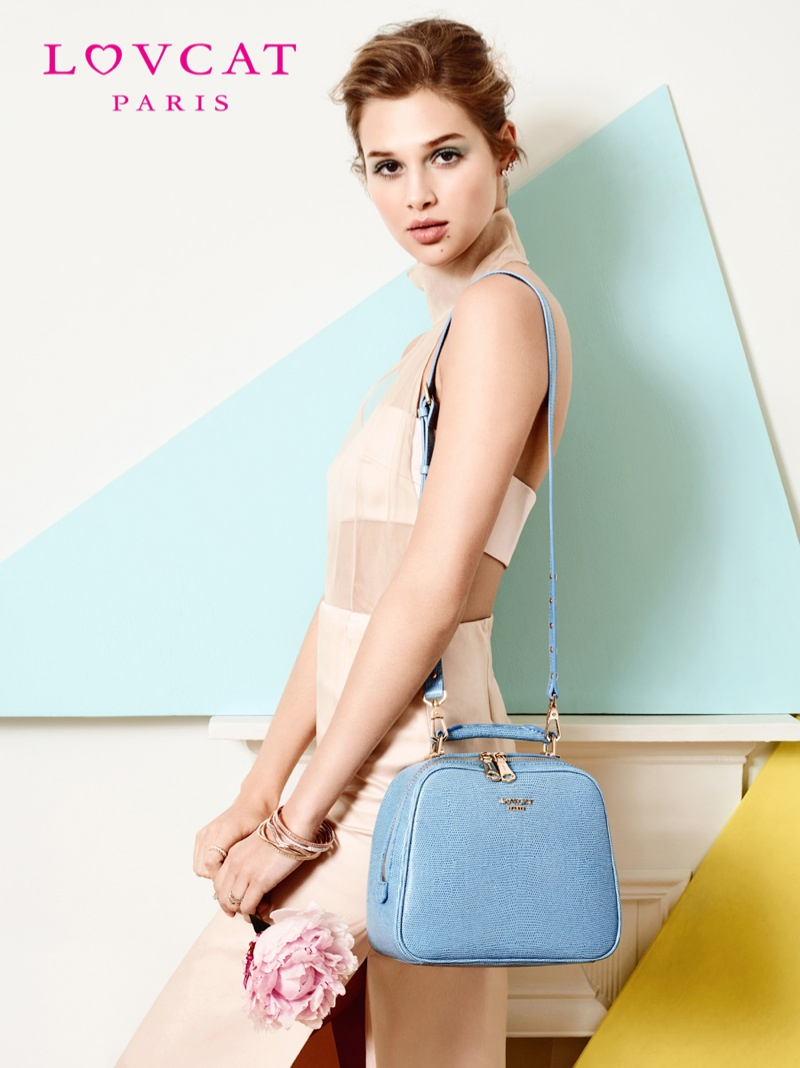 anais pouliot lovcat spring 2014 campaign13 Hey Pretty! Anais Pouliot Stars in Lovcat Paris' Spring 2014 Campaign