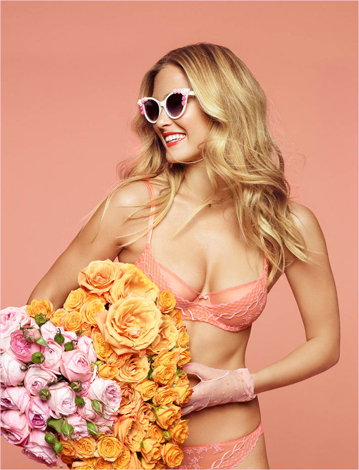 bar refaeli passionata spring 2014 11 Bar Refaeli Gets Fun, Flirty in Passionata Spring 2014 Ads