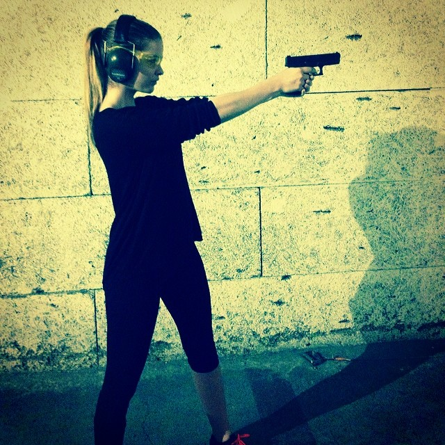 barbara gun Instagram Photos of the Week | Anja Rubik, Karlie Kloss + More Models